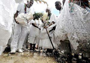 Lavagem de Escadarias na Bahia